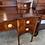Thumbnail: An Edwardian mahogany bow fronted dressing table