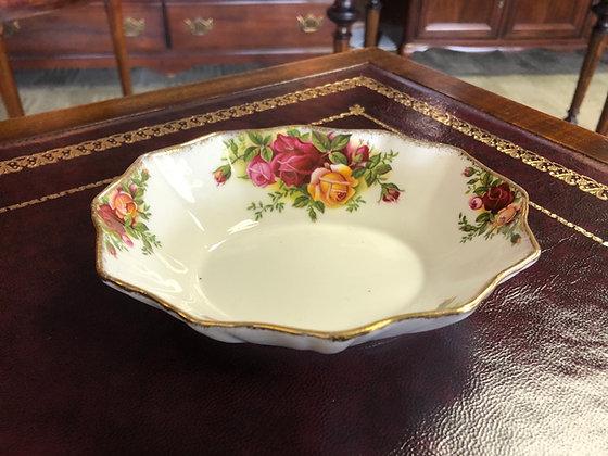 """Royal Albert """"Old Country Roses"""" 12 Sided Bon Bon Dish."""