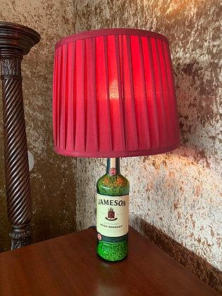 Jameson Whiskey Bottle Lamp and Shade