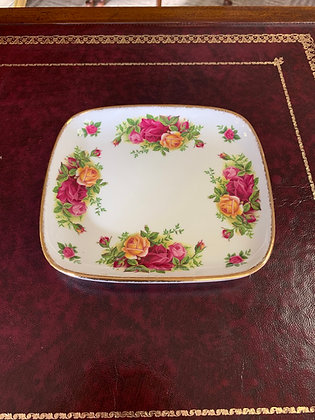 """Royal Albert """"Old Country Roses"""" Serving Plate"""