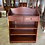 Thumbnail: Mahogany bookcase with 3wooden shelves & 2 drawers