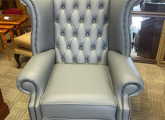 Grey Queen Anne Chair - made to order
