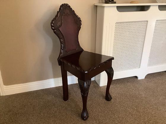 Hall Mahogany Chair
