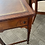 Thumbnail: Mahogany console writing desk with brown leather top