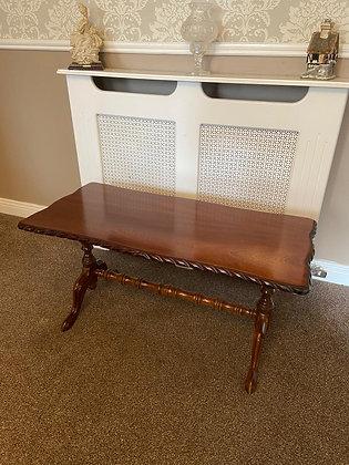 Rectangle mahogany coffee table / centre piece