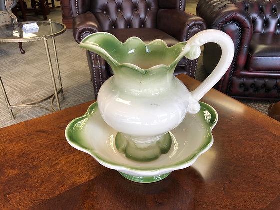 Gleneagles wash bowl and jug set.