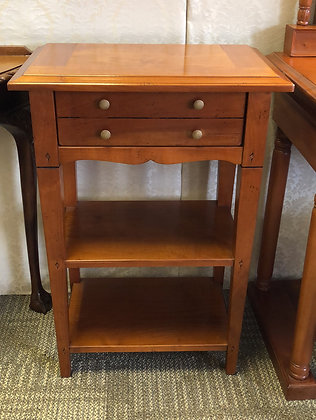 Rosewood lamp/side table