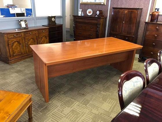 Modern large office desk.