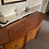 Thumbnail: Mahogany sideboard with 3 drawers & 2 cupboard with gold deco