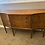 Thumbnail: Golden mahogany sideboard with 2 side cupboards, 3 drawer