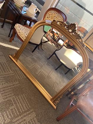 Gold gilt mirror (small)