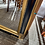 Thumbnail: Gold/Black rectangle mirror with detailed edging