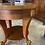 Thumbnail: Walnut inlaid drum table