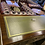 Thumbnail: Mahogany writing desk with green leather top