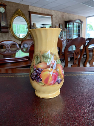 Aynsley 'Orchard Gold' Fine Bone China Vase (6.5inch)