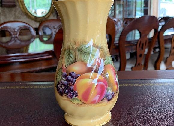 Aynsley 'Orchard Gold' Fine Bone China Vase (6.5inch)