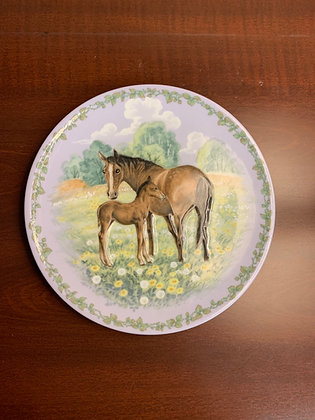 Nature's Children plate - The Colt