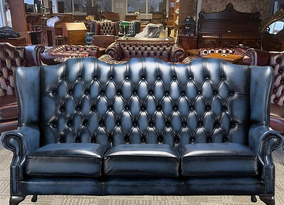 Antique high back 3 seater  - made to order