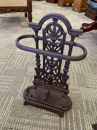 Ornate cast iron umbrella/walking stick stand
