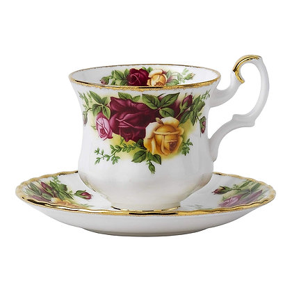 Royal Albert Old Country Roses Coffee Cup Saucer Set