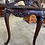 Thumbnail: Ornate console table with scrolled back piece on cabriole leg