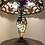 Thumbnail: Tiffany style lamp with light up base cream/brown
