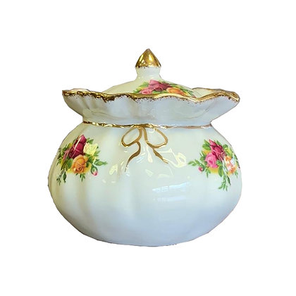 Royal Albert Old Country Roses small Pot With Lid