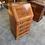 Thumbnail: Yew writing bureau with 4 drawers with key