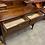 Thumbnail: An Edwardian mahogany dressing table with bevelled mirror