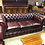 Thumbnail: Oxblood leather chesterfield 3 seater - made to order