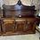 Thumbnail: Solid mahogany chiffonier 3 cupboards & 3 drawers