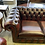 Thumbnail: Oxblood 2 seater chesterfield (new)