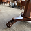 Thumbnail: Mahogany Round Table with Clawed Feet Hall Table
