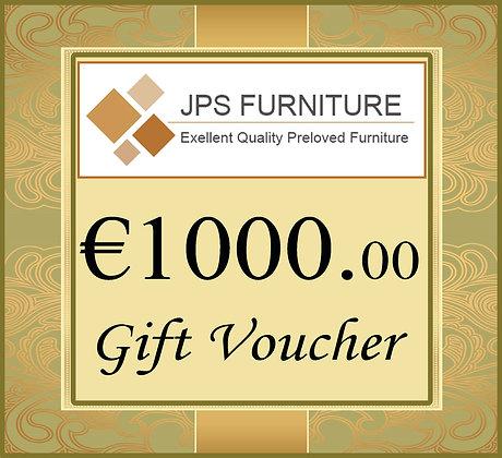 Gift Voucher €1,00.00
