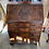 Thumbnail: Georgian style mahogany writing bureau with bookcase on top