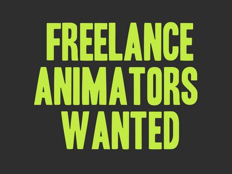 Animators Wanted!