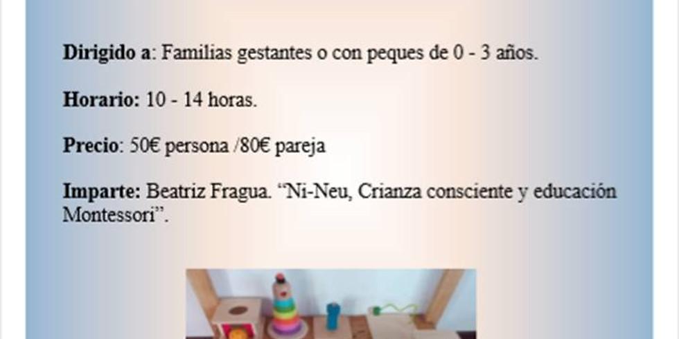 TALLER: MONTESSORI EN EL HOGAR