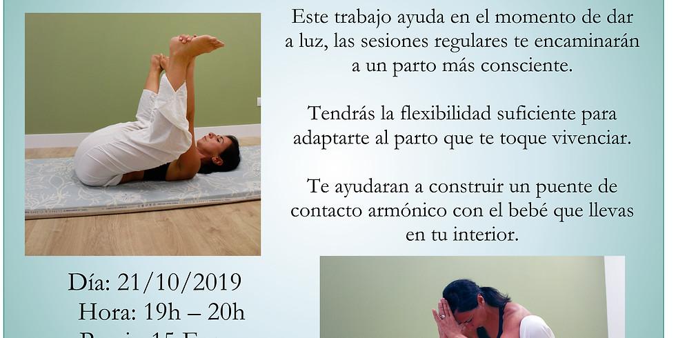 Taller; yoga para embarazadas