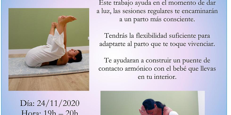 Taller de yoga para embarazadas