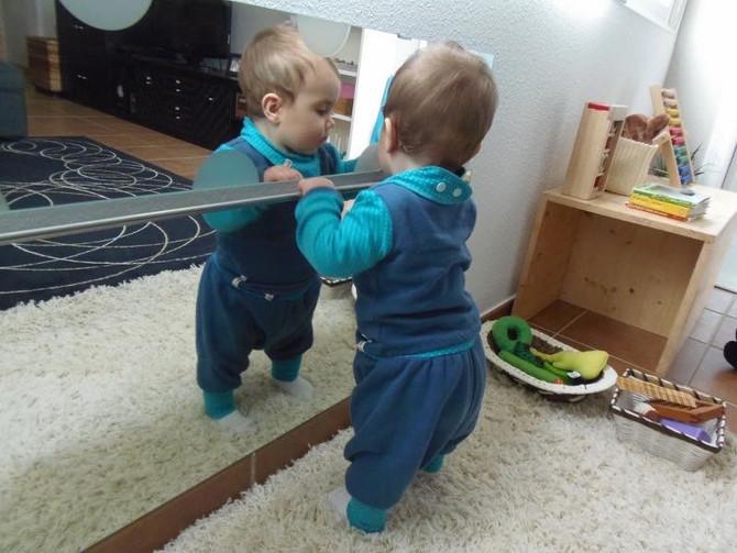 El espejo...