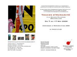 Flyer expo Pelgrims
