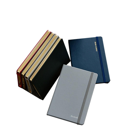 Leather Notebook by Bynd Artisan with Name Emboss