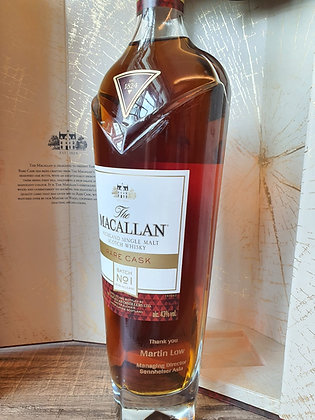 Macallan Double Cask 15 With Name Engraving