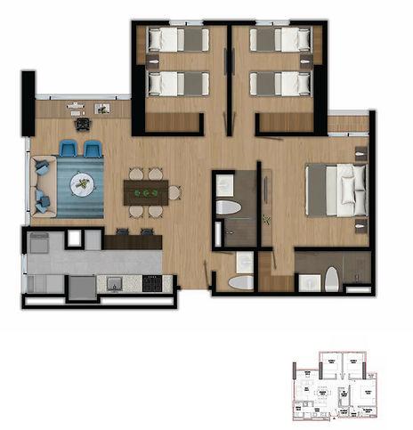 Zima 26 Apartamento Tipo 1