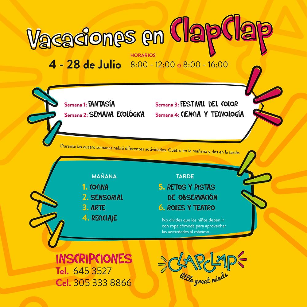 Vacaciones en ClapClap