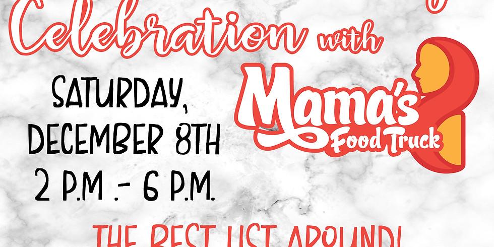 4th Anniversary Party with Mama's Empanadas