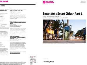 'Smart Art \ Smart Cities - Part 1' New London Architecture