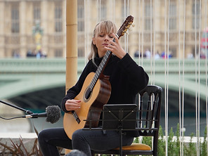 Charity concert by classical guitarist Alexandra Whittingham