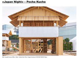 Architekturforum Zürich, «Japan Night» – Pecha Kucha