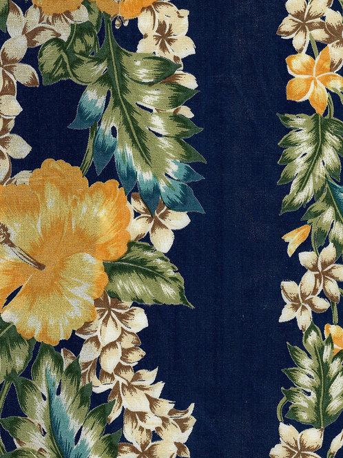 HERITAGE MOON GOWN 1:1 BLUE FLOWER TRIM